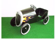 1934 Hot Rod Pedal Car Black with Flames