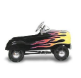 Hot Rod Pedal Car (Street Rod with Flames) by InStep