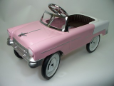 1955 Classic Pedal Car Pink-White