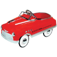 Comet Pedal Car Red