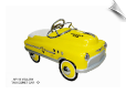 Comet Yellow Taxi Pedal Car
