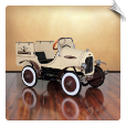 Deluxe Woody Wagon Roadster Pedal Car (LOW STOCK)