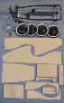Pedal Car Chassis Kit (WOODEN)