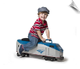Amtrak P42 Locomotive Scootster