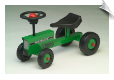 Scootser Little Mini-Tractor Green