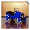 1933 Classic Voiture Pedal Car Blue (LOW STOCK)