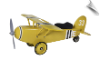 Scootser 33 Airplane Yellow