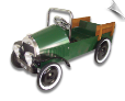 Jalopy Pedal Pickup Truck Green