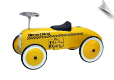 Scootster Retro Racer Taxi Yellow