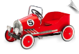 Classic Pedal Car Red Racer
