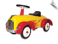 Scoot-Along Roadster Flamed (Speedster Hot Dog)